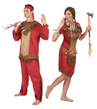 Indianer Parrkostüm