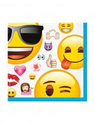 16 Papierservietten Emojis™