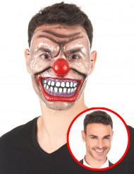 Erschreckende Clownsmaske