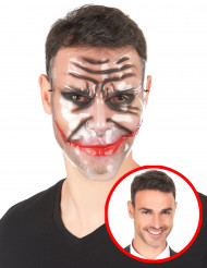 Transparente Maske Clownsgrinsen