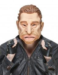 Humorvolle Latexmaske Rockstar Johnny