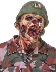 Zombie-Soldat Latexmaske