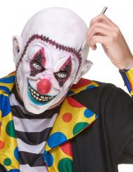 Clowns-Maske mit genähtem Gesicht