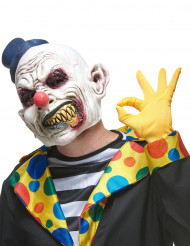Latex-Maske zähnefletschender Clown
