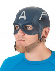 Latex Maske Amerikanischer Soldat für Erwachsene