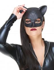 Katze Halbmaske aus Latex für Damen