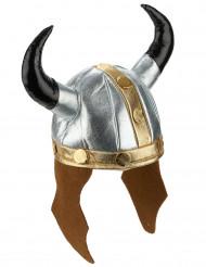 Wikinger-Helm im Metallic-Look