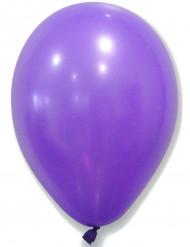 50 Latex-Luftballons violett
