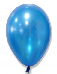 50 Luftballons - metallic blau