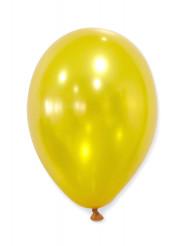 50 goldfarbende Luftballons