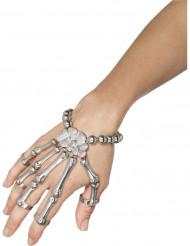 Halloween Handschmuck Skelett für Erwachsene