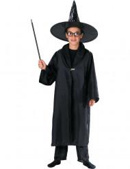 schwarzer Umhang für Zauberer für Kinder