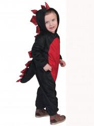 Schwarz-rotes Drachenkostüm
