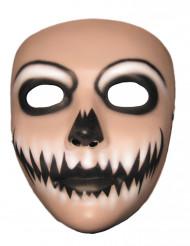 Maske lächelnder Joker für Erwachsene Halloween