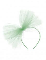 Grüner Haarreif