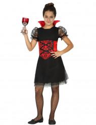 Elegantes Vampirkostüm für Mädchen