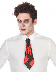 Blutige Krawatte für Halloween