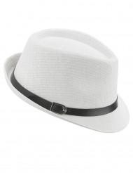 Weisser Borsalino Hut für Erwachsene