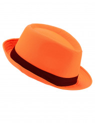 Borsalino Hut Orange für Erwachsene