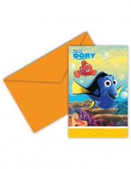 6 Findet Dorie™ Einladungskarten inkl.Umschlägen