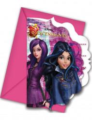 Descendants™ Einladungskarten mit Umschlägen bunt 6 Stück