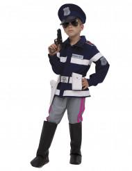 Hochwertiges Polizisten Kostüm für Jungen