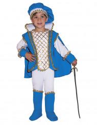 Blaues Prinzen Kostüm für Jungs