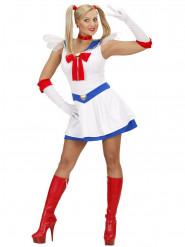 Manga-Kostüm Matrosin für Frauen