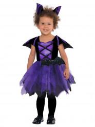 Violettes Fledermauskostüm für Kleinkinder