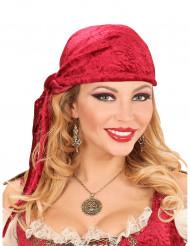 Halskette mit Piraten-Medaillon für Erwachsene