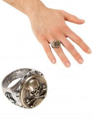 Pirat Totenkopf-Ring für Erwachsene