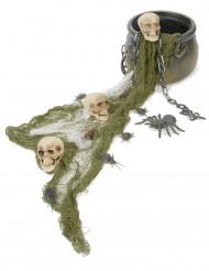 Halloween Deko Set mit Hexenkessel