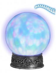 Leuchtende Kristallkugel Wahrsagerin Tischdekoration