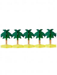 Papiergirlande mit Palmen-Motiven 4 Meter