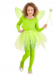 Fee Prinzessinnen Set grün für Kinder