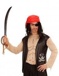 Piratenhemd mit Zubehör für Erwachsene