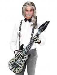 Aufblasbare Skelett-Gitarre, 105 cm