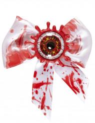 Blutige Fliege mit blutendem Auge