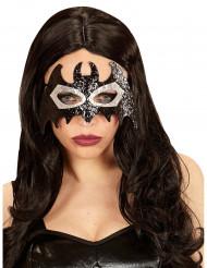 Glitzernde Augenmaske Fledermaus für Erwachsene