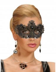 Antike Gesichtsmaske mit Schmucksteinen für Erwachsene