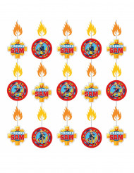 6 Hängedekos - Sam, der Feuerwehrmann™