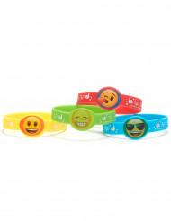 4 Gummiarmbänder  Emoji™