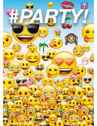8 Emoji™ Einladungskarten