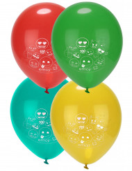 8 Latex-Ballons Emoji ™ 46 cm