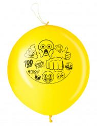 2 Luftballons Spielbälle Emoji
