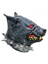 Maske wütender Hund