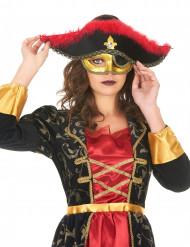 Augenmaske für Piratenkostüme