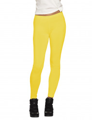 Gelbe Leggings für Damen