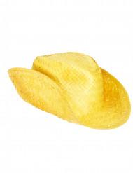 Gelber Cowboy-Hut für Erwachsene