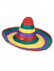 Bunter Mexikaner-Sombrero für Erwachsene
